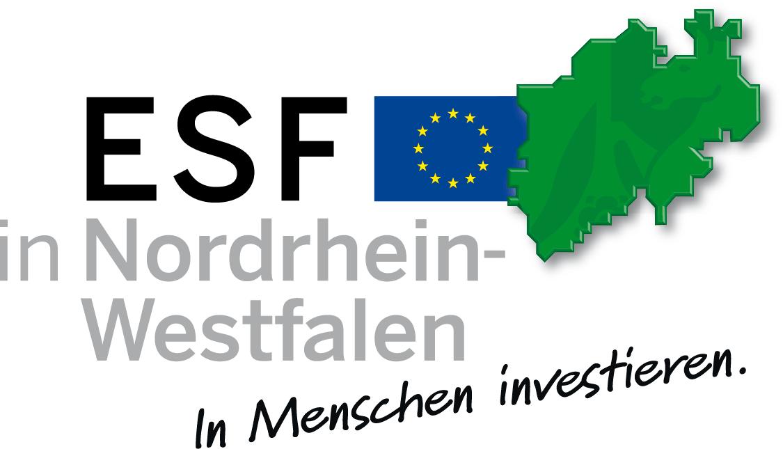 Logo Europäischer Sozialfonds NRW